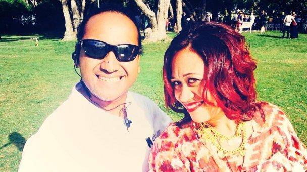 Selfie: Miss Kihi raua ko fella